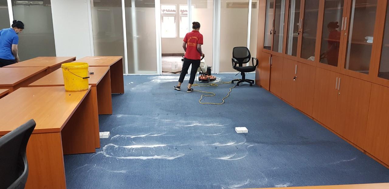 Giặt thảm văn phòng tại bình dương và các quận tại HCM