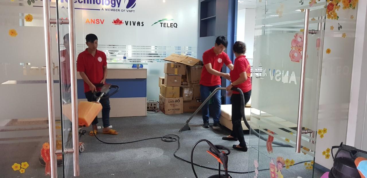Cty tốp 1 về dịch vụ giặt thảm văn phòng tại TPHCM